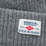 Мужская шапка Barbour x Steve McQueen International Everett Beanie Grey фото- 1