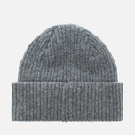 Мужская шапка Barbour x Steve McQueen International Everett Beanie Grey фото- 3