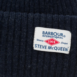 Мужская шапка Barbour x Steve McQueen International Everett Beanie Indigo фото- 1