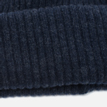 Мужская шапка Barbour x Steve McQueen International Everett Beanie Indigo фото- 2