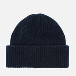 Мужская шапка Barbour x Steve McQueen International Everett Beanie Indigo фото- 3
