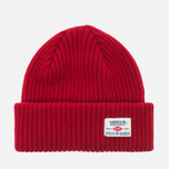 Мужская шапка Barbour x Steve McQueen International Everett Beanie Red фото- 0