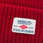 Мужская шапка Barbour x Steve McQueen International Everett Beanie Red фото- 1