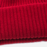 Мужская шапка Barbour x Steve McQueen International Everett Beanie Red фото- 2