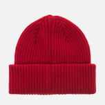 Мужская шапка Barbour x Steve McQueen International Everett Beanie Red фото- 3