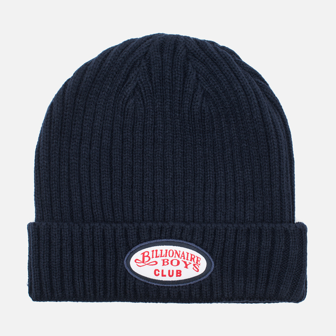 Мужская шапка Billionaire Boys Club Gentleman Patch Beanie Navy