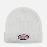 Мужская шапка Billionaire Boys Club Gentleman Patch Beanie White фото- 0