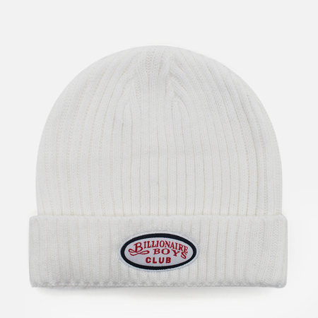 Мужская шапка Billionaire Boys Club Gentleman Patch Beanie White