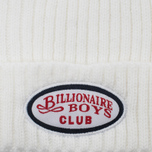 Мужская шапка Billionaire Boys Club Gentleman Patch Beanie White фото- 1