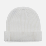Мужская шапка Billionaire Boys Club Gentleman Patch Beanie White фото- 3