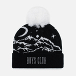Мужская шапка Billionaire Boys Club Ski Bobble Beanie Black фото- 1