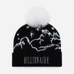 Мужская шапка Billionaire Boys Club Ski Bobble Beanie Black фото- 0