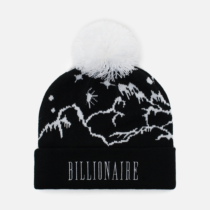 Мужская шапка Billionaire Boys Club Ski Bobble Beanie Black