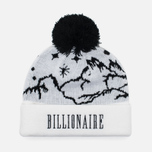 Мужская шапка Billionaire Boys Club Ski Bobble Beanie White фото- 1