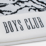 Мужская шапка Billionaire Boys Club Ski Bobble Beanie White фото- 2