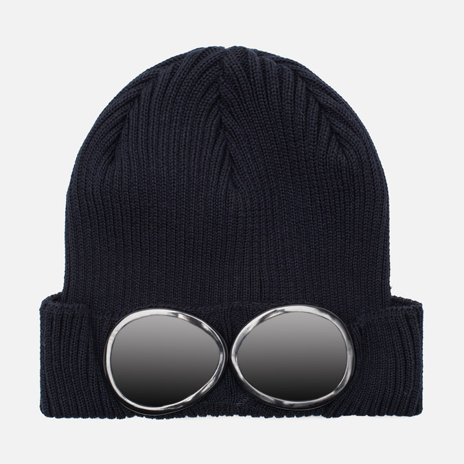 Мужская шапка C.P. Company Berretto Goggle Navy