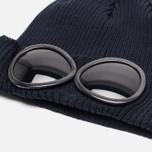 Мужская шапка C.P. Company Berretto Goggle Navy фото- 1