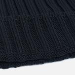 Мужская шапка C.P. Company Merino Wool Beanie Black фото- 2