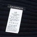 Мужская шапка C.P. Company Merino Wool Beanie Black фото- 4