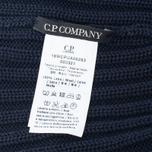 Мужская шапка C.P. Company Merino Wool Beanie Dark Blue фото- 3