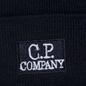 Шапка C.P. Company Wool Classic Logo Total Eclipse фото - 1