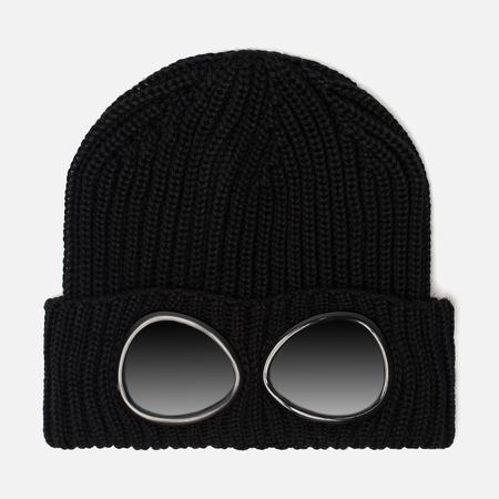 Мужская шапка C.P. Company Wool Goggle Black