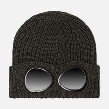 Шапка C.P. Company Wool Goggle Dark Olive фото- 0