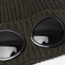 Шапка C.P. Company Wool Goggle Dark Olive фото- 1