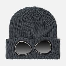 Шапка C.P. Company Wool Goggle Dark Slate фото- 0