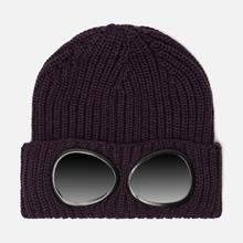 Шапка C.P. Company Wool Goggle Dark Violet фото- 0