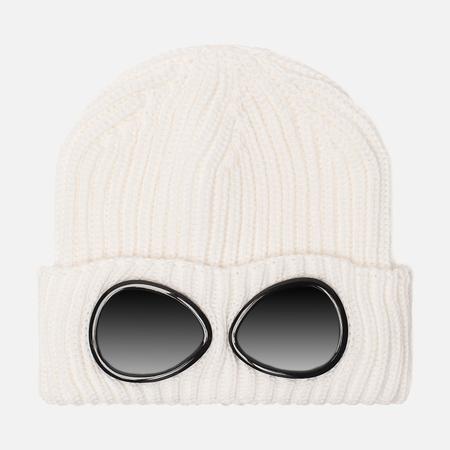 Мужская шапка C.P. Company Wool Goggle Gauze White