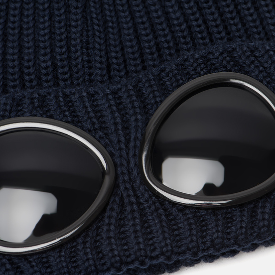 Шапка C.P. Company Wool Goggle Total Eclipse