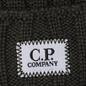 Шапка C.P. Company Wool Ribbed Logo Dark Olive фото - 1
