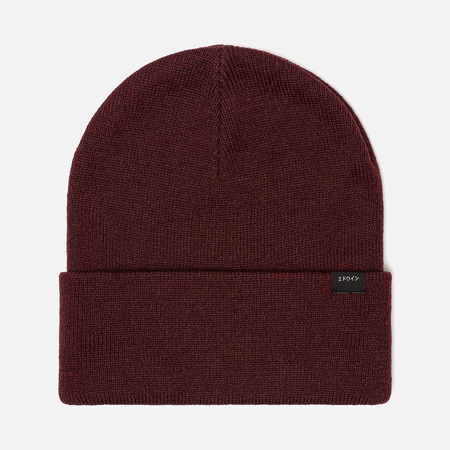 Мужская шапка Edwin Kurt Beanie Oxblood Red