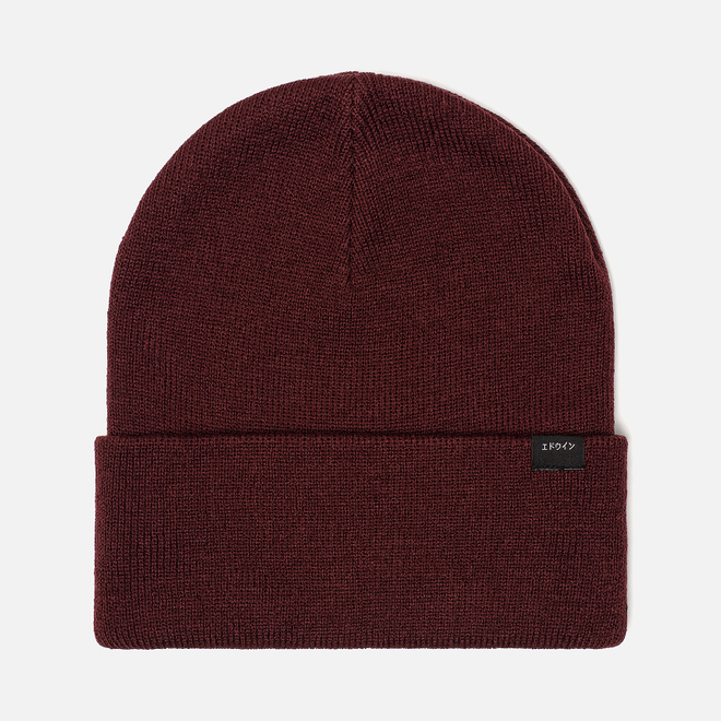 Шапка Edwin Kurt Beanie Oxblood Red