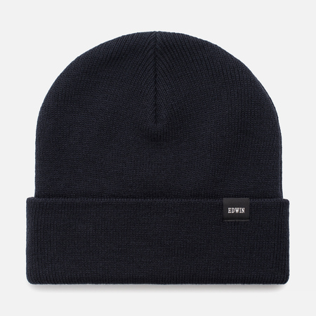 Мужская шапка Edwin Watch Beanie Navy