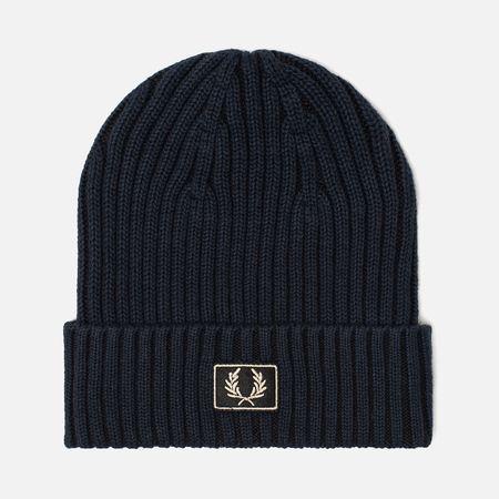 Шапка Fred Perry Beanie 2 Tone Navy