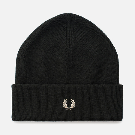 Мужская шапка Fred Perry Merino Wool Beanie Hunting Green