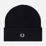 Шапка Fred Perry Merino Wool Beanie Navy/Ecru фото- 0