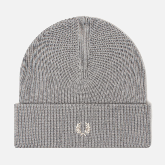 Шапка Fred Perry Merino Wool Beanie Steel Marl