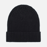 Шапка Fred Perry Ribbed Beanie Black фото- 4