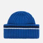 Шапка Fred Perry Ribbed Beanie Blue фото- 3