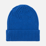 Шапка Fred Perry Ribbed Beanie Blue фото- 4