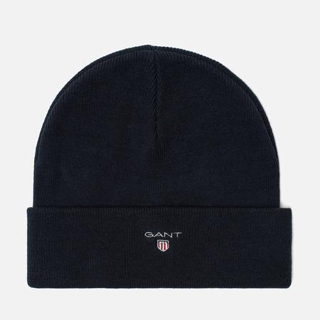 Мужская шапка Gant Logo Marine
