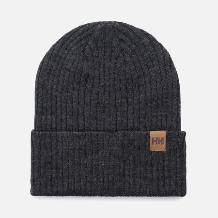 Мужская шапка Helly Hansen Business Beanie Charcoal Melange
