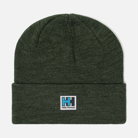 Шапка Helly Hansen HH Knitted Beanie Mountain Green Melange