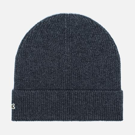 Мужская шапка Lacoste Beanie Antracite Melange