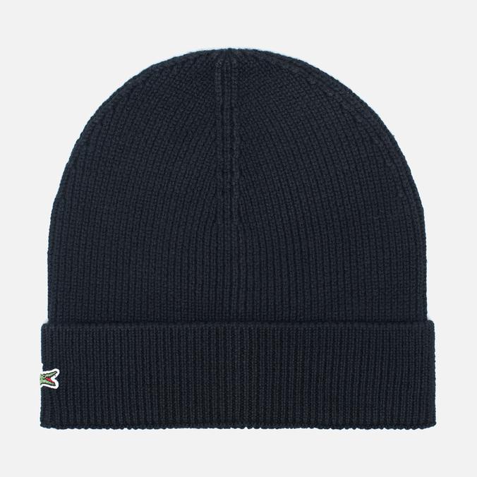 Мужская шапка Lacoste Beanie Black