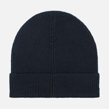 Шапка Lacoste Ribbed Wool Beanie Black фото- 1