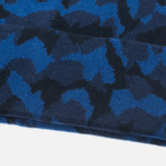 Мужская шапка Lacoste Live Print Jacquard Beanie Navy/Black фото- 2